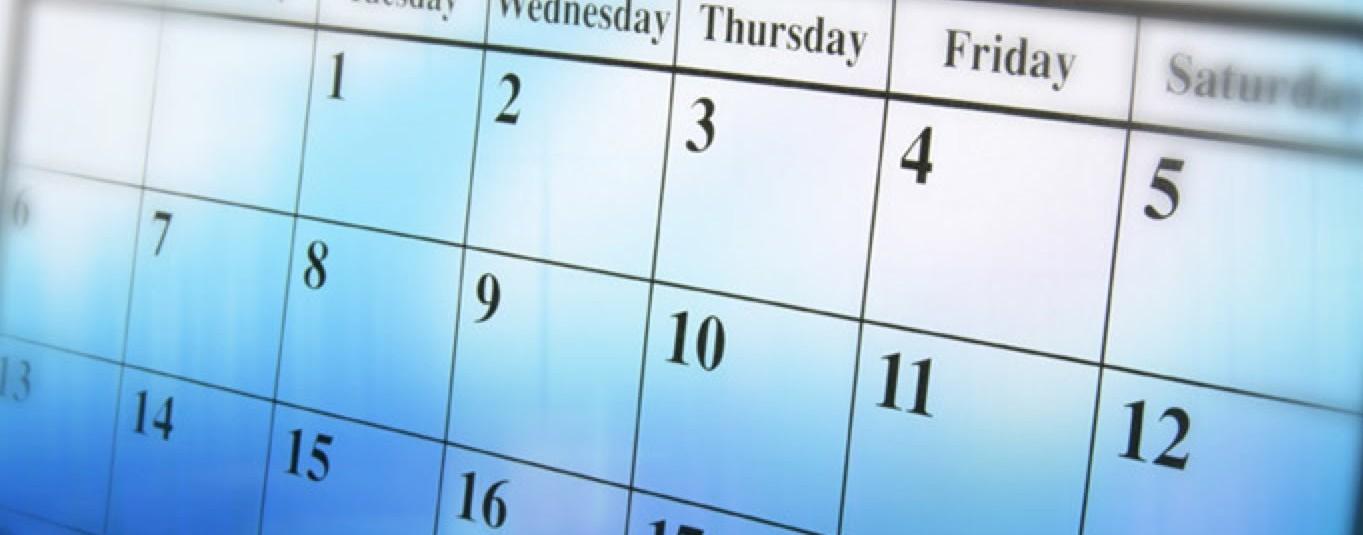 Календарь форекс на 2016 год
