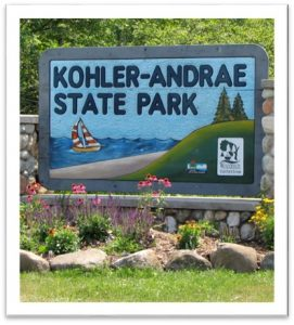 Camping at Terre Andrae @ kohler andrae state park | Sheboygan | Wisconsin | United States